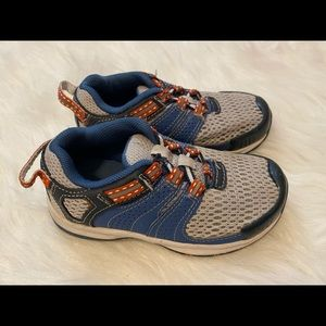 Lands End Blue Sneakers - Size 7 Wide - GUC